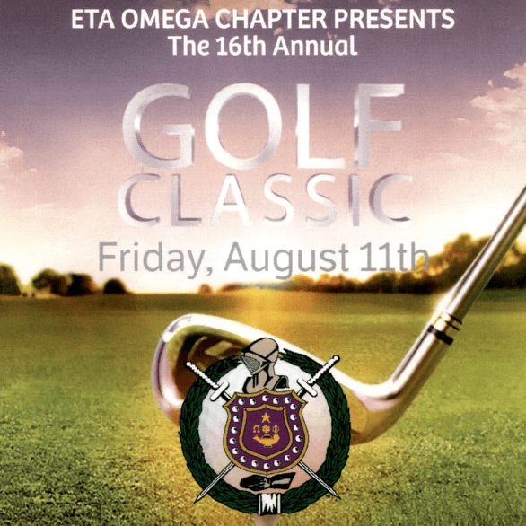 16th Annual Eta Omega Golf Classic- coming Friday, August 11, 2017