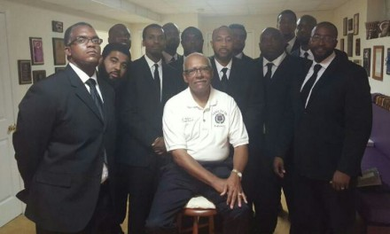 Eta Omega Welcomes 13 New Brothers