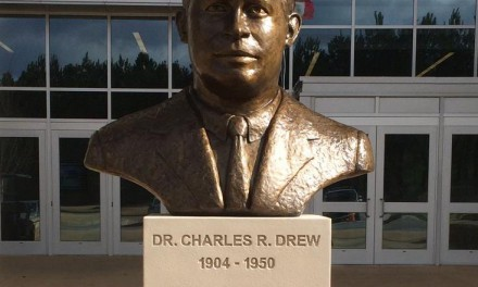Charles R. Drew Memorial Sculpture Dedication
