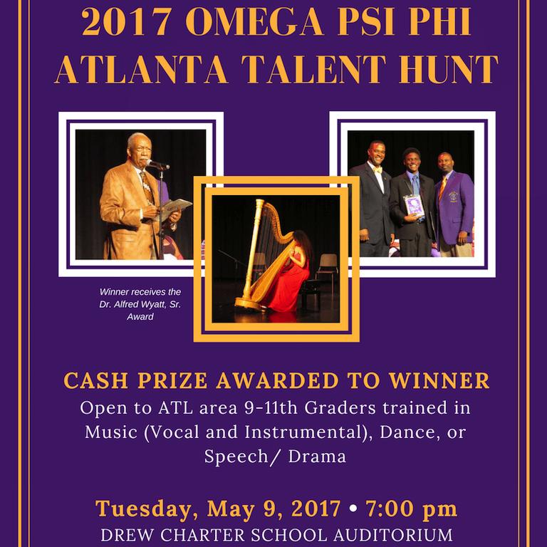 2017 Eta Omega Talent Hunt
