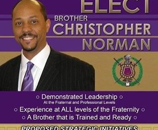 Bro. Chris Norman for Georgia 1st Vice State Representative