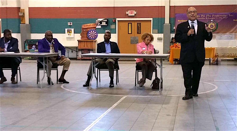 Eta Omega Holds Voter Forum on Amendment One
