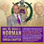 Omega Psi Phi Fraternity remembers Dr. Moses C. Norman