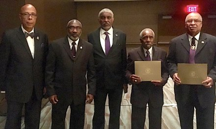PHOTOS: Eta Omega Brothers Receive Service Awards at the Grand Conclave