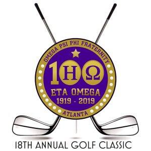18th Annual Eta Omega Golf Classic - web flyer