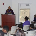 Bro. Sean Whitney Jones gives history on ASALH, and its connection to Omega.