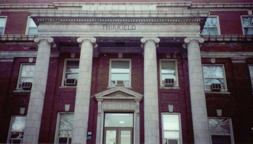 Thirkield Hall, Howard University campus