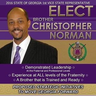 Bro. Chris Norman for Georgia 1st Vice State Rep