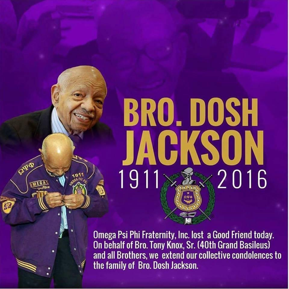 Bro. Dosh Jackson