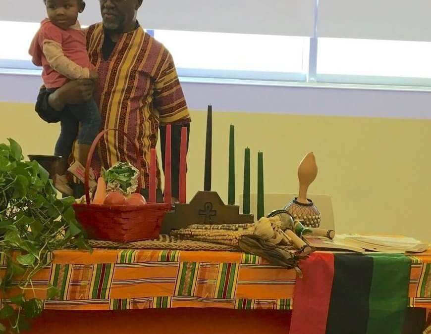 RECAP: 2017 Eta Omega Kwanzaa Celebration: Purple and Gold … Red, Black and Green