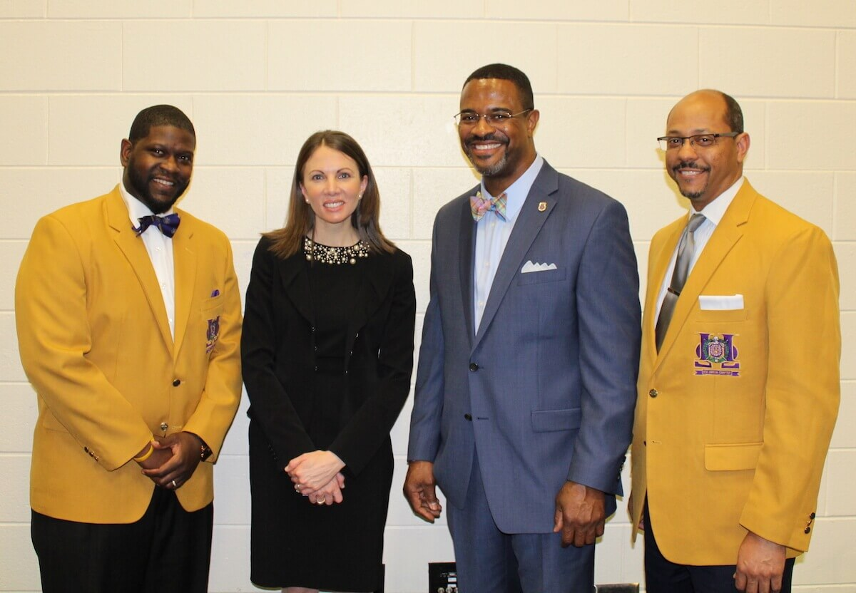 Eta Omega brothers and Georgia gubernatorial candidate Stacey Evans