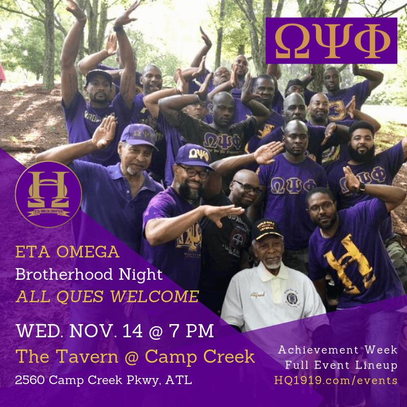 Eta Omega Brotherhood Night