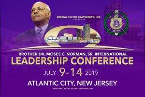 Omega Psi Phi Bro. Dr. Moses C. Norman Sr. International Leadership Conference