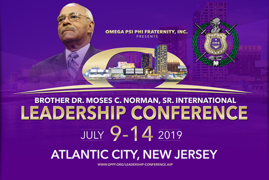Omega Psi Phi Bro. Dr. Moses C. Norman Sr. International Leadership Conference