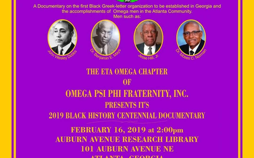 Black History Month 2019: 100 Years of Omega in the Deep South
