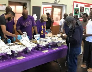 Eta Omega Chapter Pre-Father's Day breakfast
