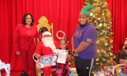 RECAP: Eta Omega Chapter Helps Santa