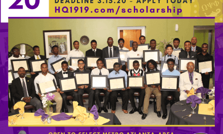 APPLY TODAY: 2020 Eta Omega Chapter College Scholarships