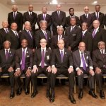 Eta Omega Chapter at the 2020 Omega Psi Phi Metro Atlanta Memorial Service