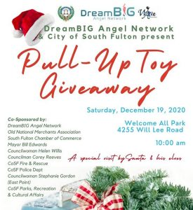 Eta Omega Chapter Omega Psi Phi City of South Fulton Toy Giveaway 2020