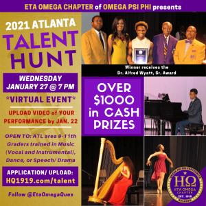 2021 Talent Hunt Eta Omega Chapter Omega Psi Phi