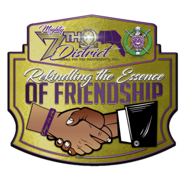 Omega Psi Phi Seventh District logo
