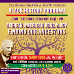 2021 Black History Month Program Eta Omega Chapter of Omega Psi Phi