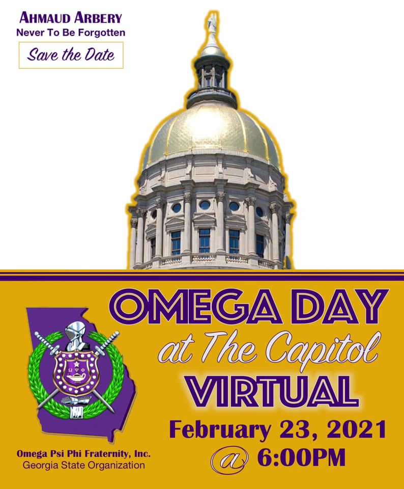 Save the Date - Omega Day at the GA Capitol